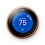 Nest Learning Third Generation Thermostat in Copper