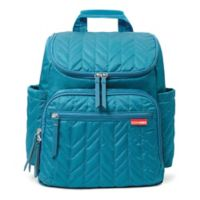 SKIP*HOP® Forma Diaper Backpack in Peacock