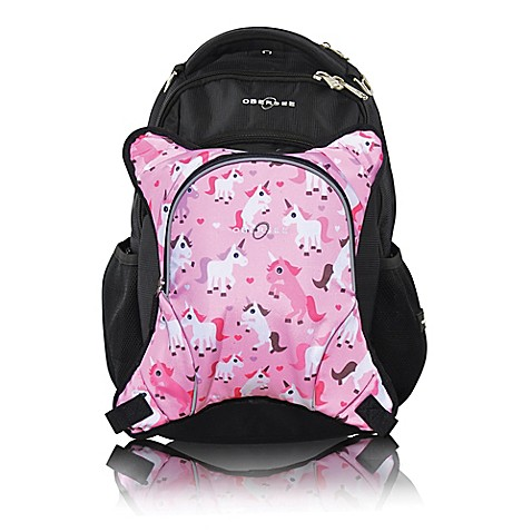 obersee oslo diaper bag backpack with detachable cooler in unicorns buybuy baby. Black Bedroom Furniture Sets. Home Design Ideas