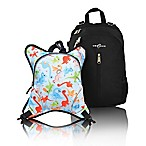 Obersee Rio Diaper Bag Backpack with Detachable Cooler in Dinos