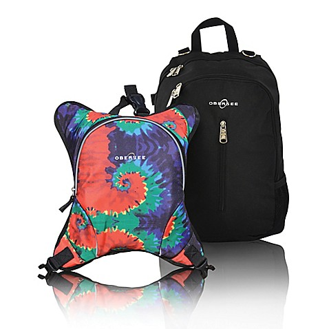obersee rio diaper bag backpack with detachable cooler in tie dye bed bath beyond. Black Bedroom Furniture Sets. Home Design Ideas