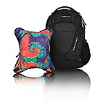 Obersee Oslo Diaper Bag Backpack with Detachable Cooler in Tie Dye