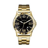 CARAVELLE Men's 44mm Watch in Goldtone Stainless Steel
