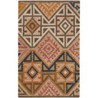 Capel Rugs Shakta Dakota 3'6 x 5'6 Hand Tufted Multicolor Area Rug