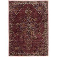 Oriental Weavers Andorra 7-Foot 10-Inch x 10-Foot 10-Inch Area Rug in Red