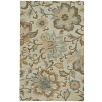 Capel Rugs Lincoln Blooming Hand Tufted 3'6 x 5'6 Multicolor Area Rug