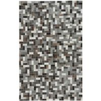 Capel Rugs Butte Patchwork 8' x 10' Leather Area Rug