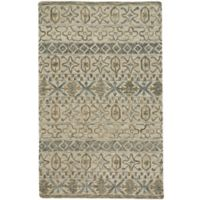 Capel Rugs Lincoln Geometric 8' x 10' Area Rug in Buff Blue