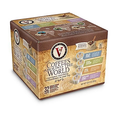 Victor Allen 32 Count Coffees Around The World Coffee Pods