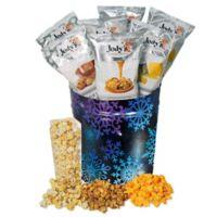 Jody's Gourmet Popcorn® Neon Snow Gift Tin