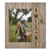 """Awesome Eh"" 5-Inch x 7-Inch Wood Picture Frame"