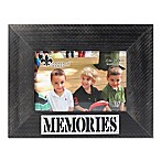 "Lawrence Frames 4-Inch x 6-Inch ""Memories"" Distressed Wood Picture Frame"