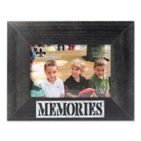 """Lawrence Frames 4-Inch x 6-Inch """"Memories"""" Distressed Wood Picture Frame"""