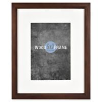 Gallery 5-Inch x 7-Inch Matted Wood Frame in Espresso