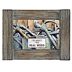 Grasslands Road Rustic Wood 4-Inch x 6-Inch Picture Frame in Grey