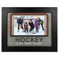 Hockey Happy 4-Inch x 6-Inch Picture Frame