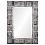 Ren-Wil Pearce 30-Inch x 44-Inch Painted Wood Frame Wall Mirror