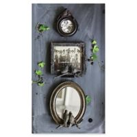 Resin 6-Inch x 5-Inch Photo Frame with Birds in Bronze