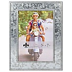 Lawrence Frames 5-Inch x 7-Inch Galvanized Metal Picture Frame