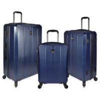 U.S. Travel Highrock 3-Piece Hardside Spinner Luggage Set in Navy