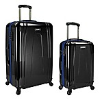 U.S. Traveler 2-Piece EZ-Charge Spinner Set in Black