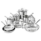 Calphalon® Classic Stainless Steel 14-Piece Cookware Set