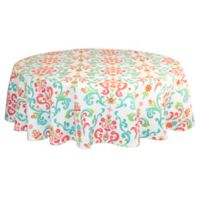 Destination Summer Odesa 60-Inch Round Indoor/Outdoor Tablecloth