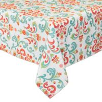 Destination Summer Odesa 52-Inch x 70-Inch Oblong Indoor/Outdoor Tablecloth