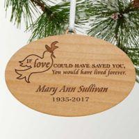 Forever Loved Memorial Christmas Ornament