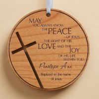 Blessings For You Wood Keepsake Christmas Ornament