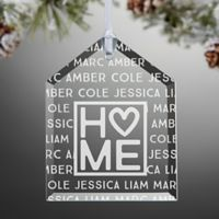 Home is Love Christmas Ornament