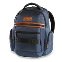 Original Penguin® Classics 6-Pocket 15-Inch Laptop Backpack in Navy
