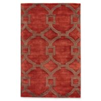 Jaipur Regency 2-Foot x 3-Foot Accent Rug in Red/Brown