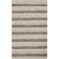 KAS Cortico Landscape 7-Foot 6-Inch x 9-Foot 6-Inch Area Rug in Grey/White