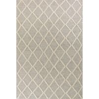 KAS Cortico Diamonds 7-Foot 6-Inch x 9-Foot 6-Inch Area Rug in Grey