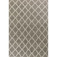 KAS Cortico Diamonds 7-Foot 6-Inch x 9-Foot 6-Inch Area Rug in Dark Grey