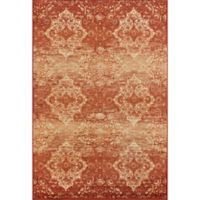 KAS Heritage Vintage 3-Foot 3-Inch x 4-Foot 11-Inch Accent Rug in Rust