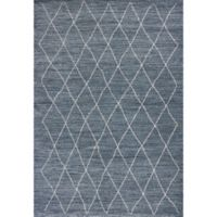 KAS Landscapes Boho 3-Foot 3-Inch x 5-Foot 3-Inch Area Rug in Blue