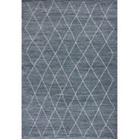 KAS Landscapes Boho 5-Foot 3-Inch x 7-Foot 7-Inch Area Rug in Blue
