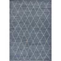 KAS Landscapes Boho 7-Foot 10-Inch x 10-Foot 10-Inch Area Rug in Blue