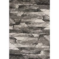 KAS Landscapes Highlights 5-Foot 3-Inch x 7-Foot 7-Inch Area Rug in Grey