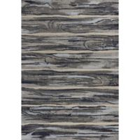 KAS Illusions Landscape 3-Foot 3-Inch x 4-Foot 11-Inch Accent Rug in Grey