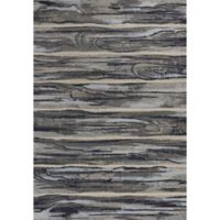 KAS Illusions Landscape 5-Foot 3-Inch x 7-Foot 7-Inch Area Rug in Grey