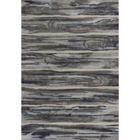 KAS Illusions Landscape 7-Foot 10-Inch x 10-Foot 10-Inch Area Rug in Grey