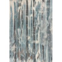 KAS Illusions Moderne 3-Foot 3-Inch x 4-Foot 11-Inch Accent Rug in Teal
