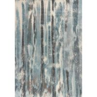 KAS Illusions Moderne 5-Foot 3-Inch x 7-Foot 7-Inch Area Rug in Teal