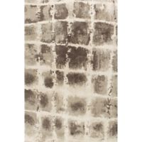 KAS Madison 7-Foot 7-Inch x 7-Foot 10-Inch Area Rug in Taupe/Ivory