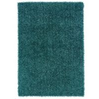 Linon Home Confetti 1-Foot 10-Inch x 2-Foot 10-Inch Accent Rug in Turquoise