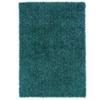 Linon Home Confetti 5-Foot x 7-Foot Area Rug in Turquoise