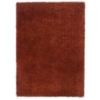 Linon Home Confetti 5-Foot x 7-Foot Area Rug in Copper